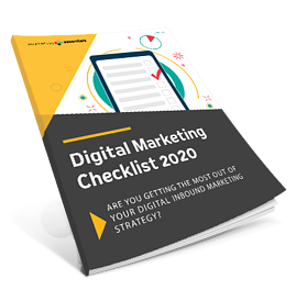 digital marketing checklist 2020