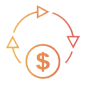 graphic of sales cycle